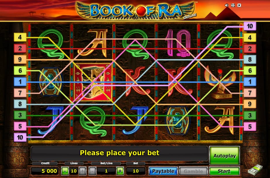 online casino spiele book of ra game